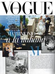La Boda Siciliana de Raquel Sánchez Silva en Vogue