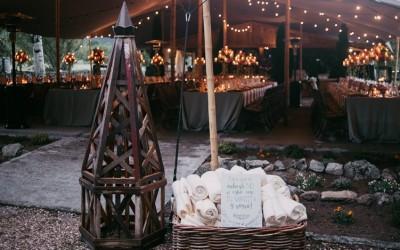 Una boda bajo la lluvia
